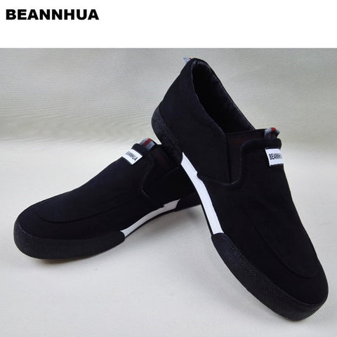 BEANNHUA Brand Men Casual Shoes Black Color Wholesale and retail Drop Shipping 032