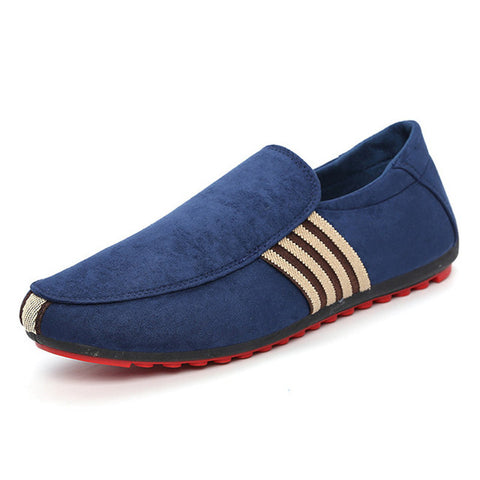 Brand Fashion Summer Canvas Shoes Men Peas Loafers High Quality Spring Shoes Men Flats Gommino Driving Shoes Size 39-45 OR915405