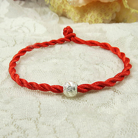 2017 Red Thread Bracelets Simple Transfer Beads Bracelet Accessories Bracelet String Jewelry Lucky Bracelets for Women