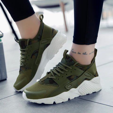 Spring Summer Casual Mesh Shoes Men Flat Shoes Winter Lace Up Breathable Footwear Male Green Color Trainers Sapatos Masculino