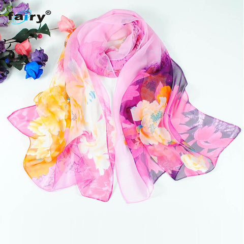 AG 31 Fairy Store 2016 Hot Selling  Fashion Chinese style Lady Long Wrap Women's Shawl Chiffon Scarf Scarves