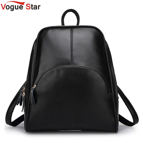 3db9babffe36 2018 NEW fashion backpack women backpack Leather school bag women Casual  style YA80
