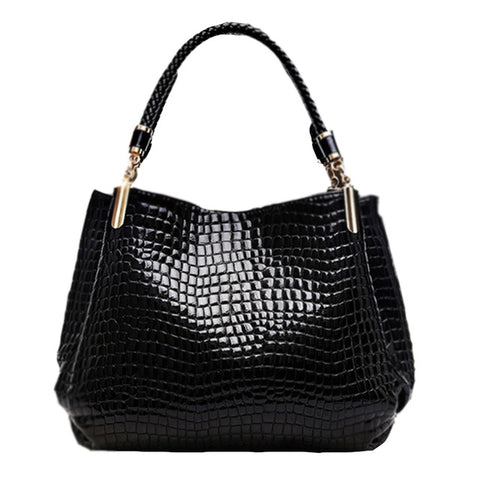 e471e51579 ZHIERNA 2017 New Popular Alligator Pu Leather Women Handbag Women Famous  Shoulder Bags totes Bag Ladies