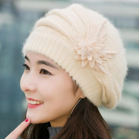 Knitted  women winter Beanies