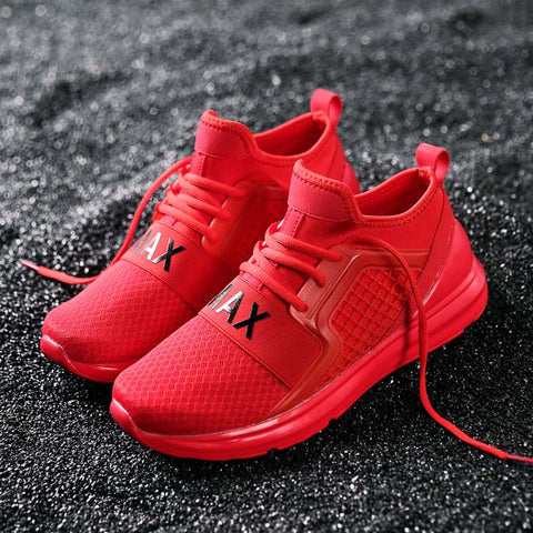 Bomlight Breathable Air Mesh Outdoor Footwear Shoes Men 2018 Spring Autumn Sneakers Men Walking Shoes Chaussure Homme Size 39-48