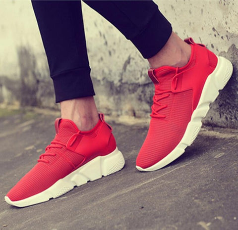 Fooraabo 2018 Women Casual Shoes Unisex Breathable Mesh Women Sneaker Couple Outdoor Leisure Fashion Tenis Feminino Basket Femme