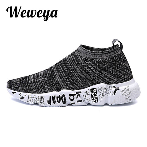 Weweya Spring Summer Men Sneakers Tenis Casual Shoes Men Mesh Luxury Breathable Footwear Male Shoes Mixed Colors Krasovki Men