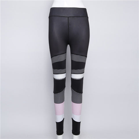 2018 Mesh Legging Sexy Grey Leggins Black patchwork dot Leggings Spliced Women Autumn Workout Leggings High Waist Leggings