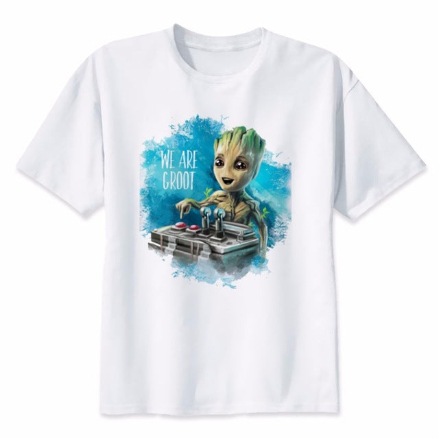 men t-shirt Anime baby Summer New funny T Shirt Male Cool Tops Tees Homme Tshirts