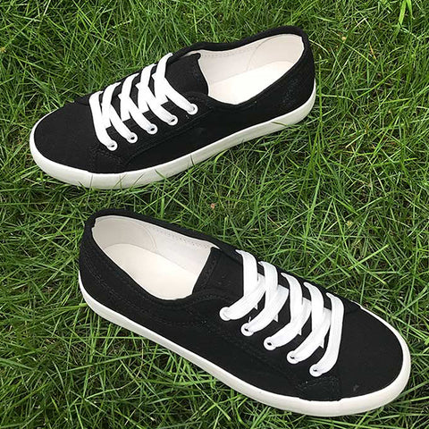 2018 Fashion Women shoes new white canvas shoes female spring and summer white casual shoes woman students Women Sneakers
