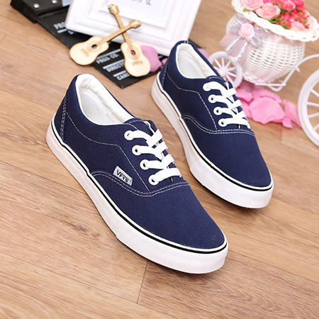 Big Size 35-43 High Quality Retail New Sale Women's Canvas Shoes Lace up casual shoes Flats Solid Women Breathable shoes