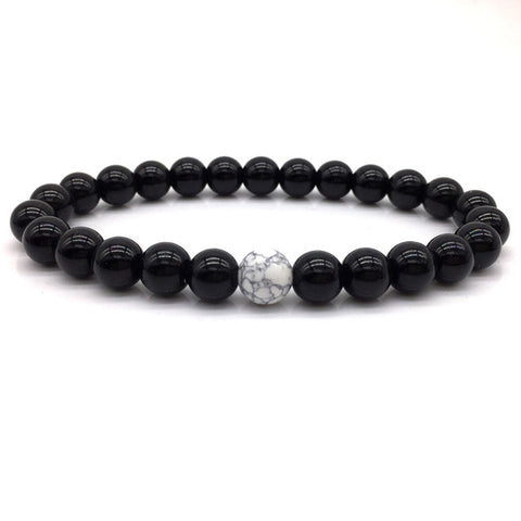 H0T Classic Natural Stone Beads DIY Bracelets High Quality Tiger Eye Buddha Lava Beads Bracelets for women men Gift Yoga jewelry