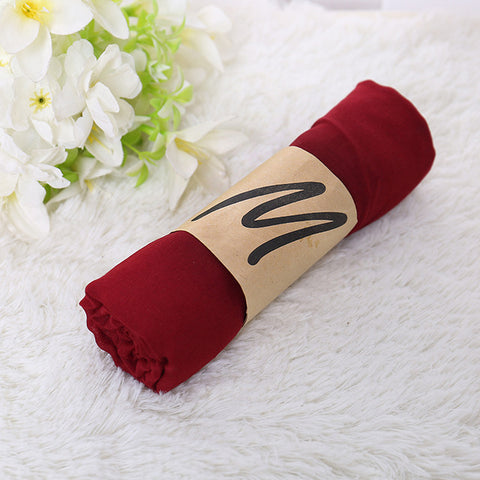 BOHOWAII Pashmina Shawl Oversized Scarf Winter Echarpe Hiver Femme 170x60cm Cotton Blends Long Hijab for Women