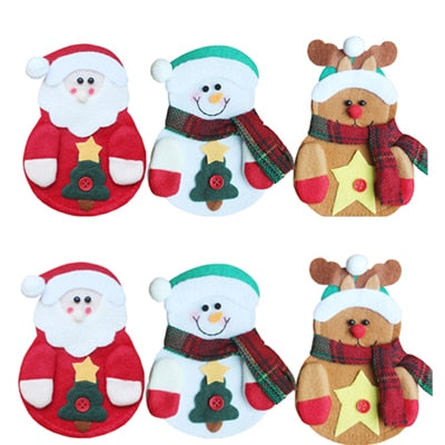 6Pcs Christmas Decoration New Year