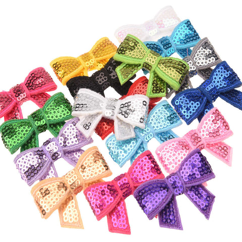 Newborn  Hair bow Sequin Bows  Bowknot Little  Hair Accessories
