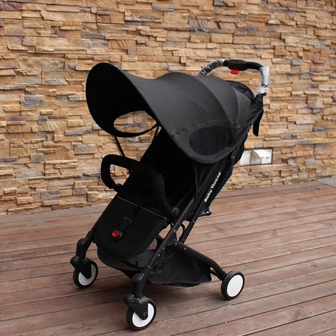 Baby Stroller Sun Visor Carriage Sun Shade Canopy Cover for Prams Stroller Accessories Car Seat