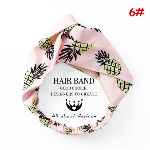 Korean Style Summer Lovely Hairband Women Hair Accessories Turban