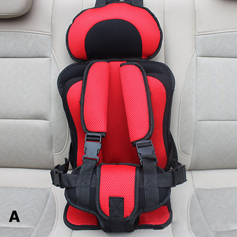 New Adjustable Baby Car Seat  6 Months-5 Years Old Baby Safe Toddler Booster Seat