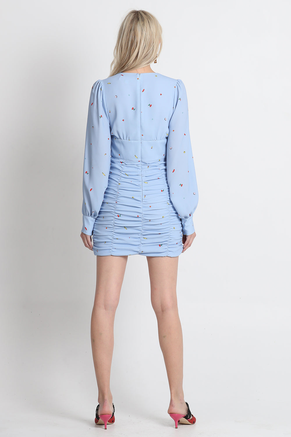 Vestire Online |Dont Speak Long Sleeve Dress| Vestire Clothing
