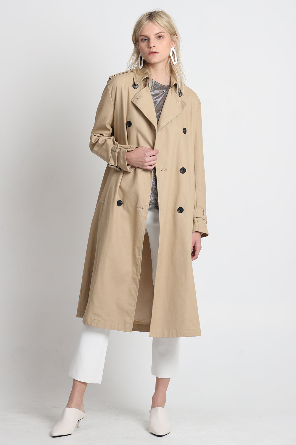 Vestire Online |Around the world trench| Vestire Clothing