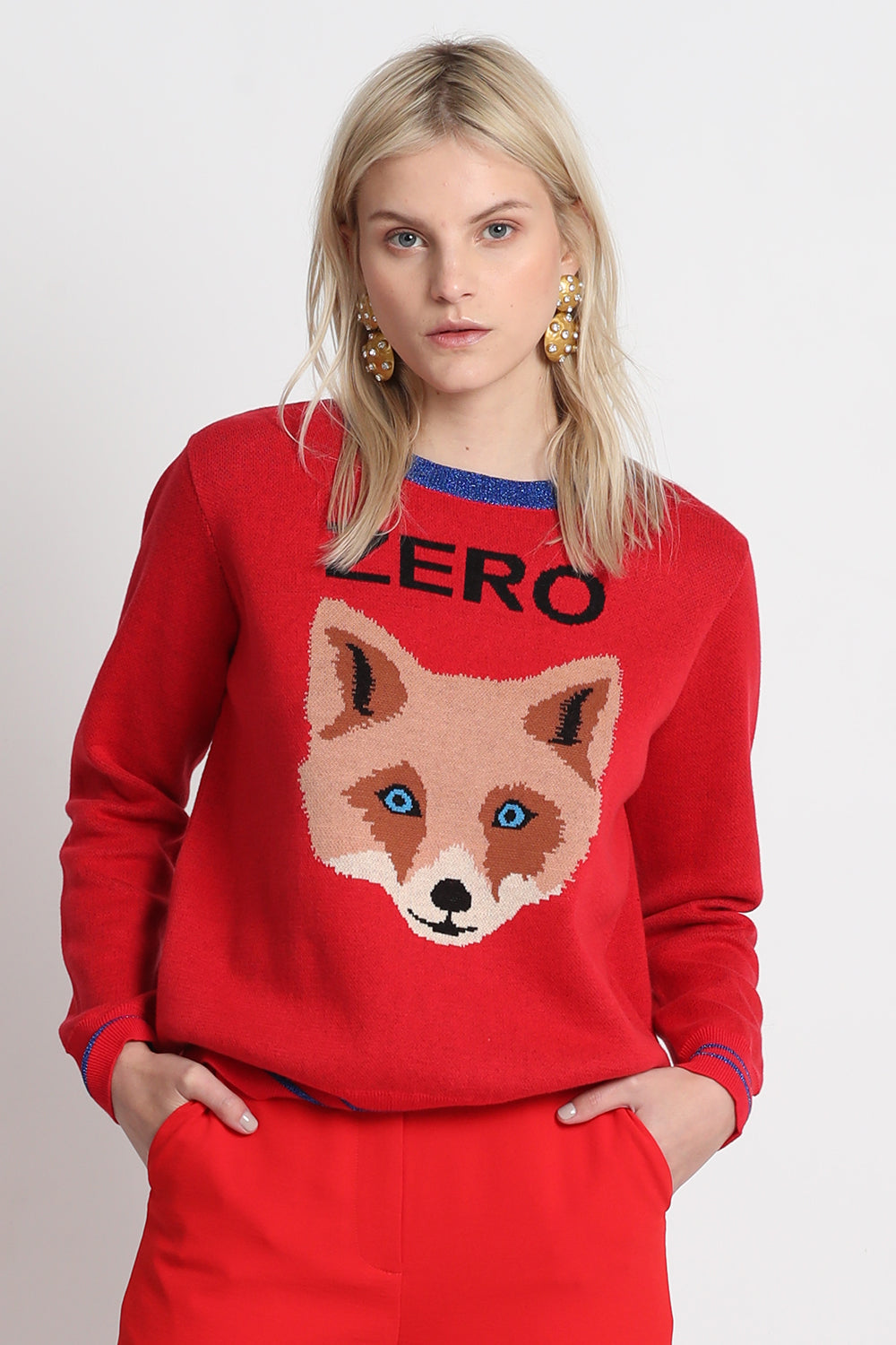Vestire Online |Zero Fox Sweater| Vestire Clothing