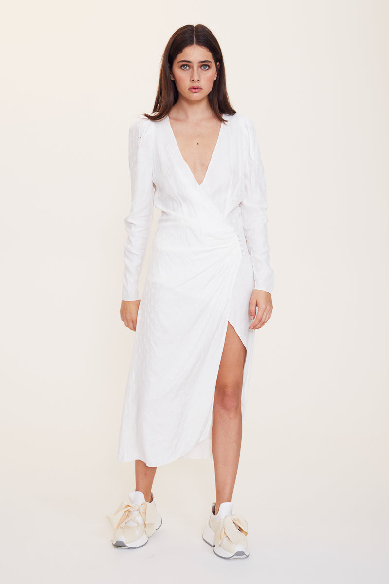Age Of Innocence Wrap Dress