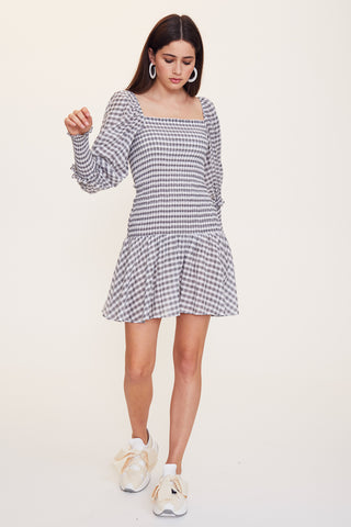 Little Havana Long Sleeve Mini Dress