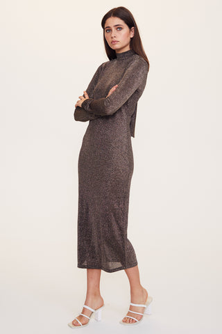 Leopard Lounge Long Sleeve Dress