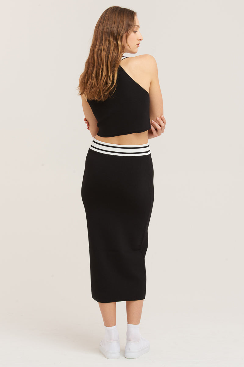 Sure Thing Midi Skirt