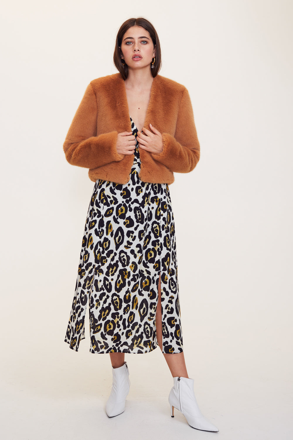 Leopard Lounge Skirt