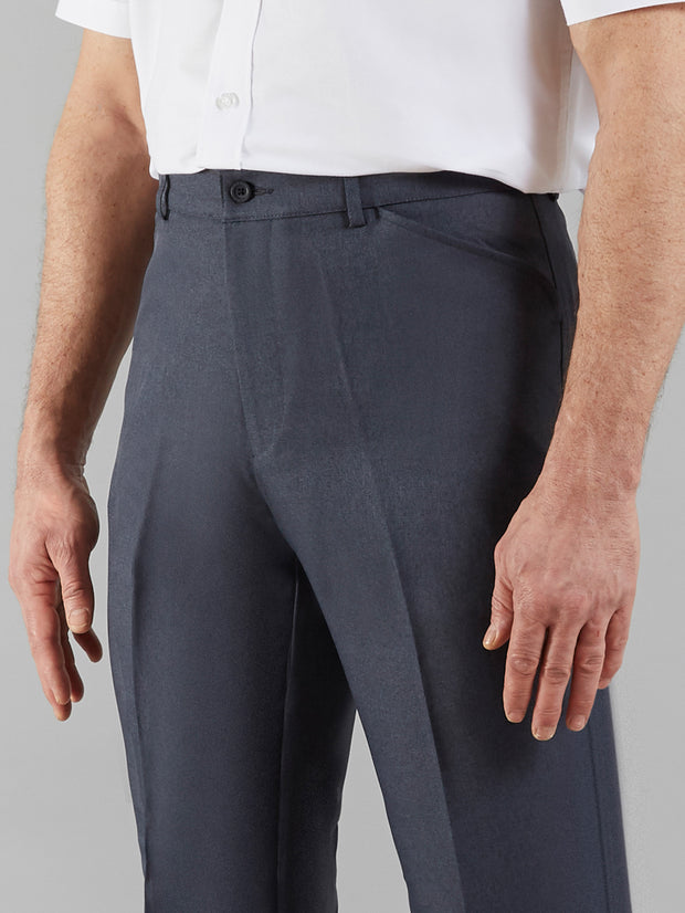EASY STRETCH TWILL TROUSERS IN INDIGO
