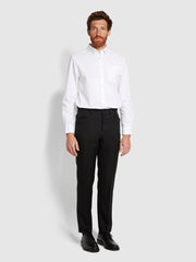Roachman Anti Stain Twill Trousers In Black
