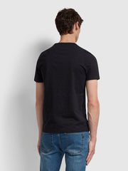 Dennis Slim Fit T-Shirt In Black Marl