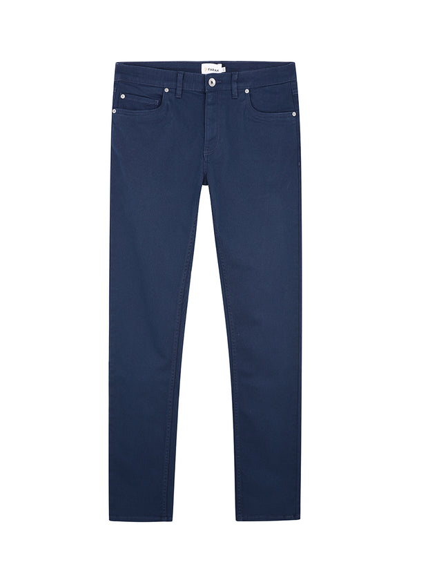 Drake Slim Fit Cotton Twill Trousers In Farah Teal