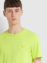 Dennis Slim Fit T-Shirt In Acid Green