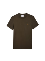 Dennis Slim Fit T-Shirt In Farah Green