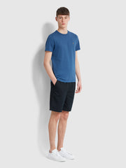 Dennis Slim Fit T-Shirt In Blue Grape Marl