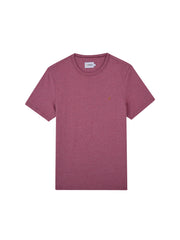 Dennis Slim Fit T-Shirt In Dusty Rose Marl