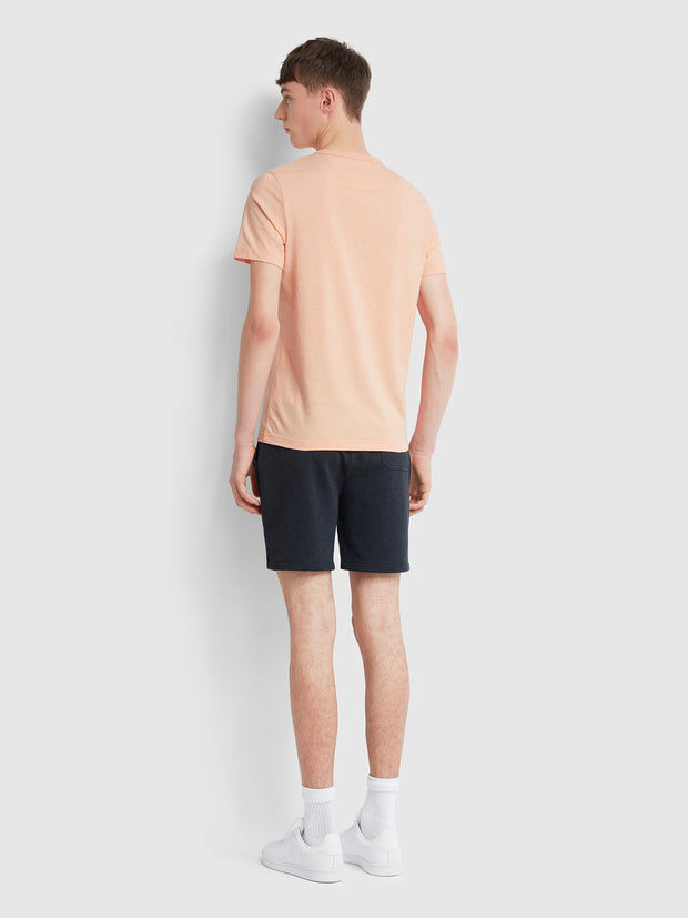 Dennis Slim Fit T-Shirt In Apricot Marl
