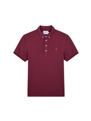 Ricky 100 Slim Fit Polo Shirt In Farah Raspberry