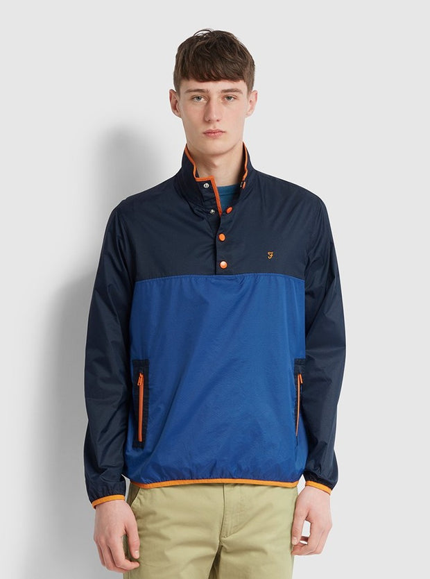 Ralph Overhead Jacket In Blue Grape