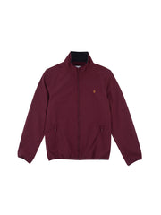 Talbot Blouson Jacket In Farah Raspberry