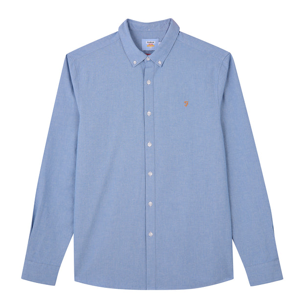 Pasadena Slim Fit Shirt In Mid Indigo
