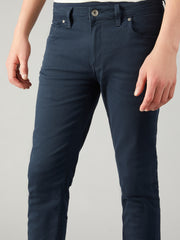 DRAKE SUPER SLIM FIT JEANS IN NAVY