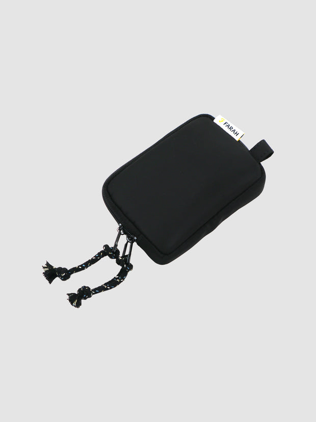 Nylon Wallet In Deep Black