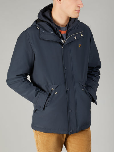 BRODIE JACKET IN TRUE NAVY