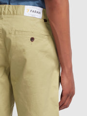 HAWK TWILL CHINO SHORTS IN LIGHT SAND