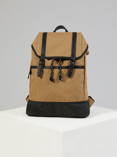 HOPSACK RUCKSACK IN CANVAS