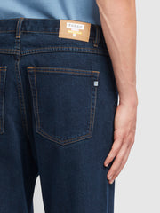 Rushmore Tapered Fit Jeans In Rinse Denim