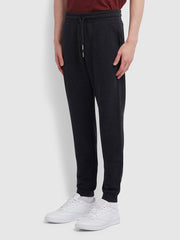 Shalden Cotton Sweatpants In Black Marl